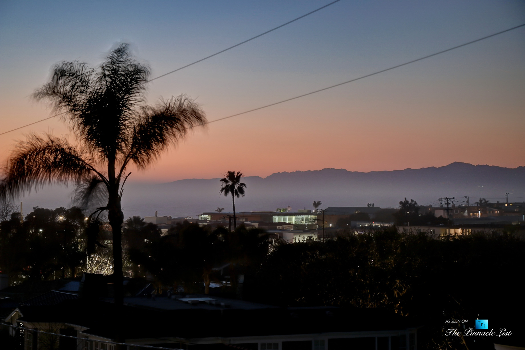 825 Highview Ave, Manhattan Beach, CA, USA – Night Ocean View – Luxury Real Estate – Modern Spanish Home