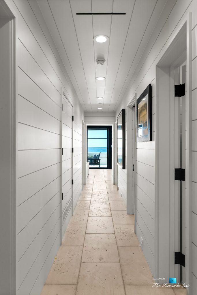 508 The Strand, Manhattan Beach, CA, USA - Lower Level Hallway - Luxury Real Estate - Oceanfront Home