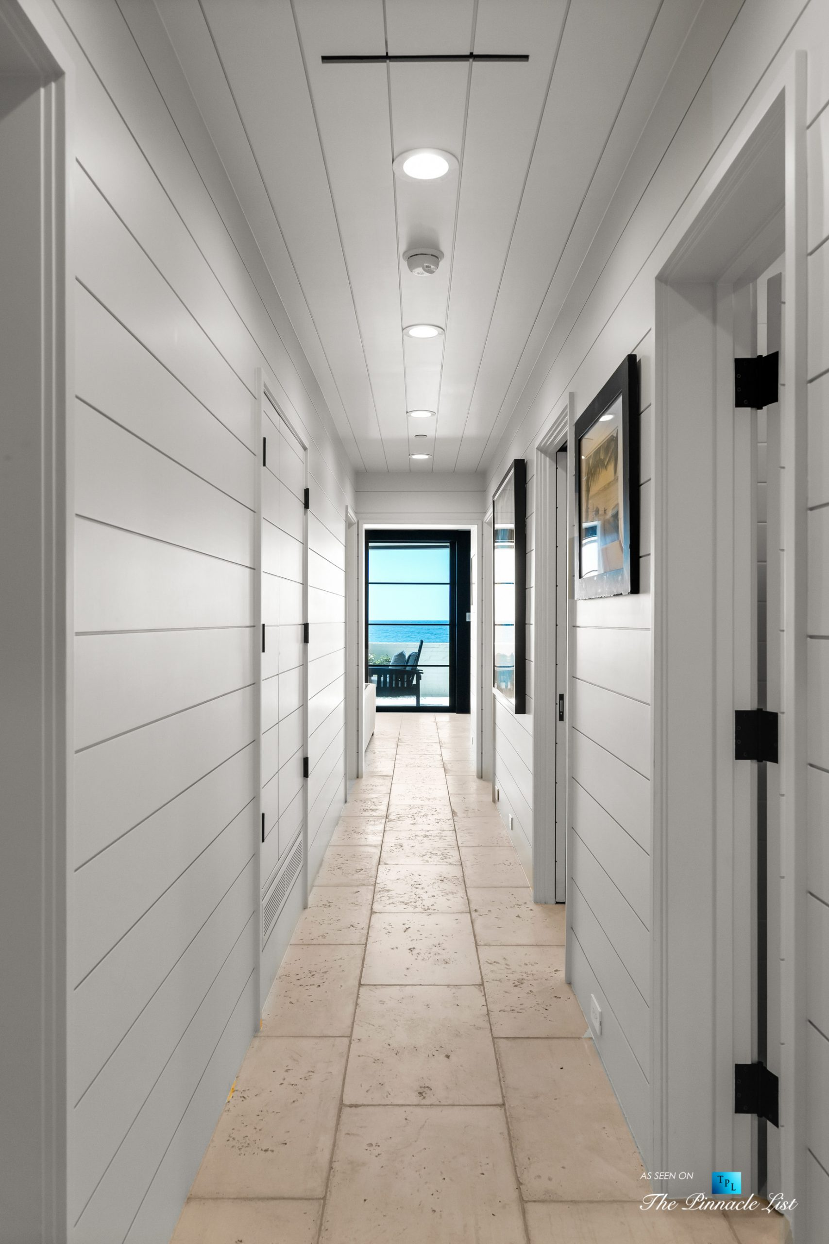 508 The Strand, Manhattan Beach, CA, USA – Lower Level Hallway – Luxury Real Estate – Oceanfront Home