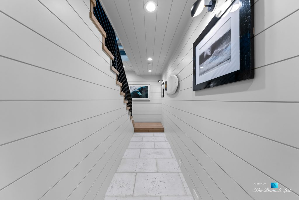 508 The Strand, Manhattan Beach, CA, USA - Lower Level Hallway Stairs - Luxury Real Estate - Oceanfront Home