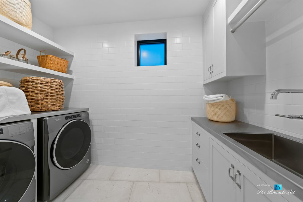 508 The Strand, Manhattan Beach, CA, USA - Lower Level Laundry - Luxury Real Estate - Oceanfront Home