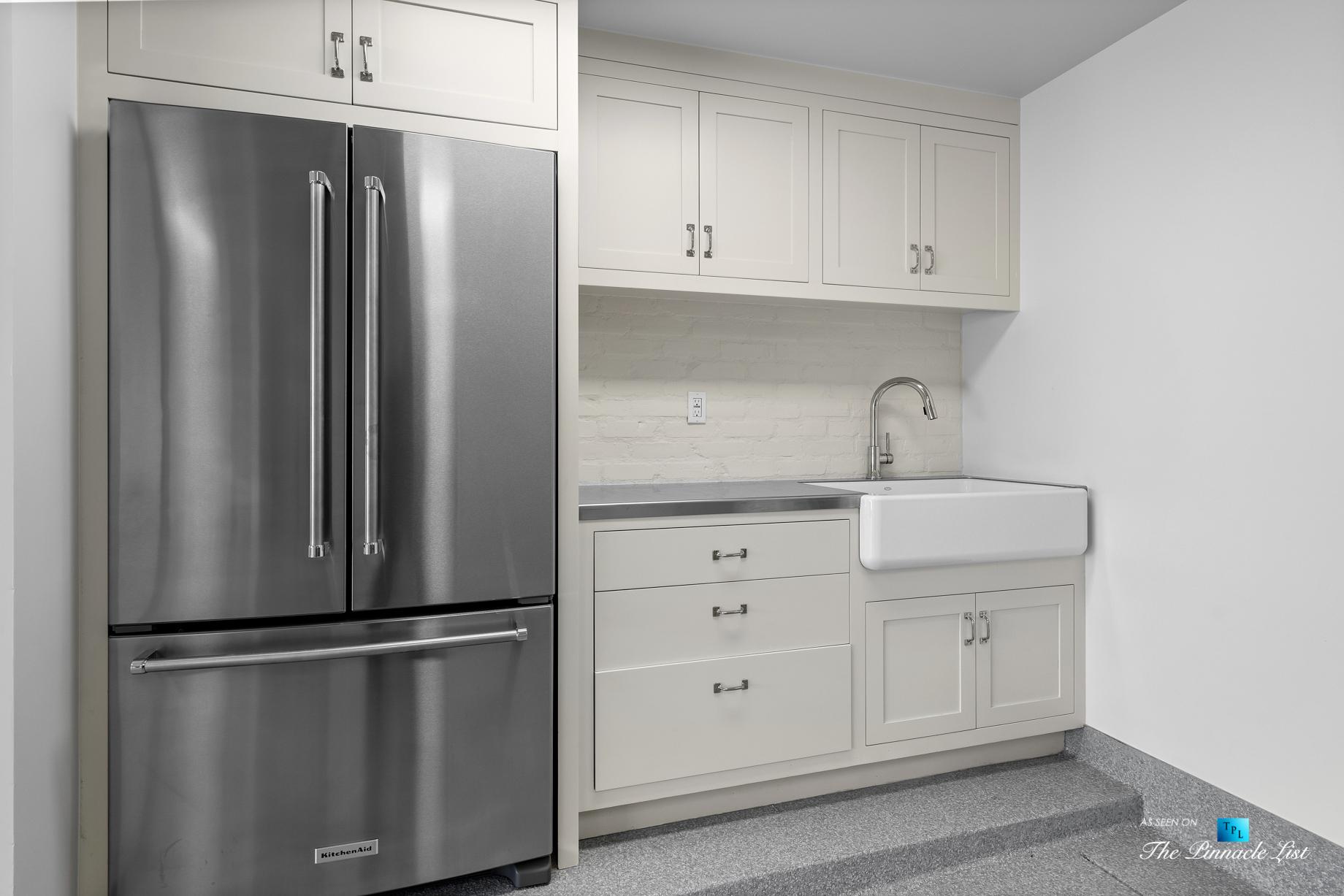 508 The Strand, Manhattan Beach, CA, USA - Lower Level Garage Kitchen - Luxury Real Estate - Oceanfront Home