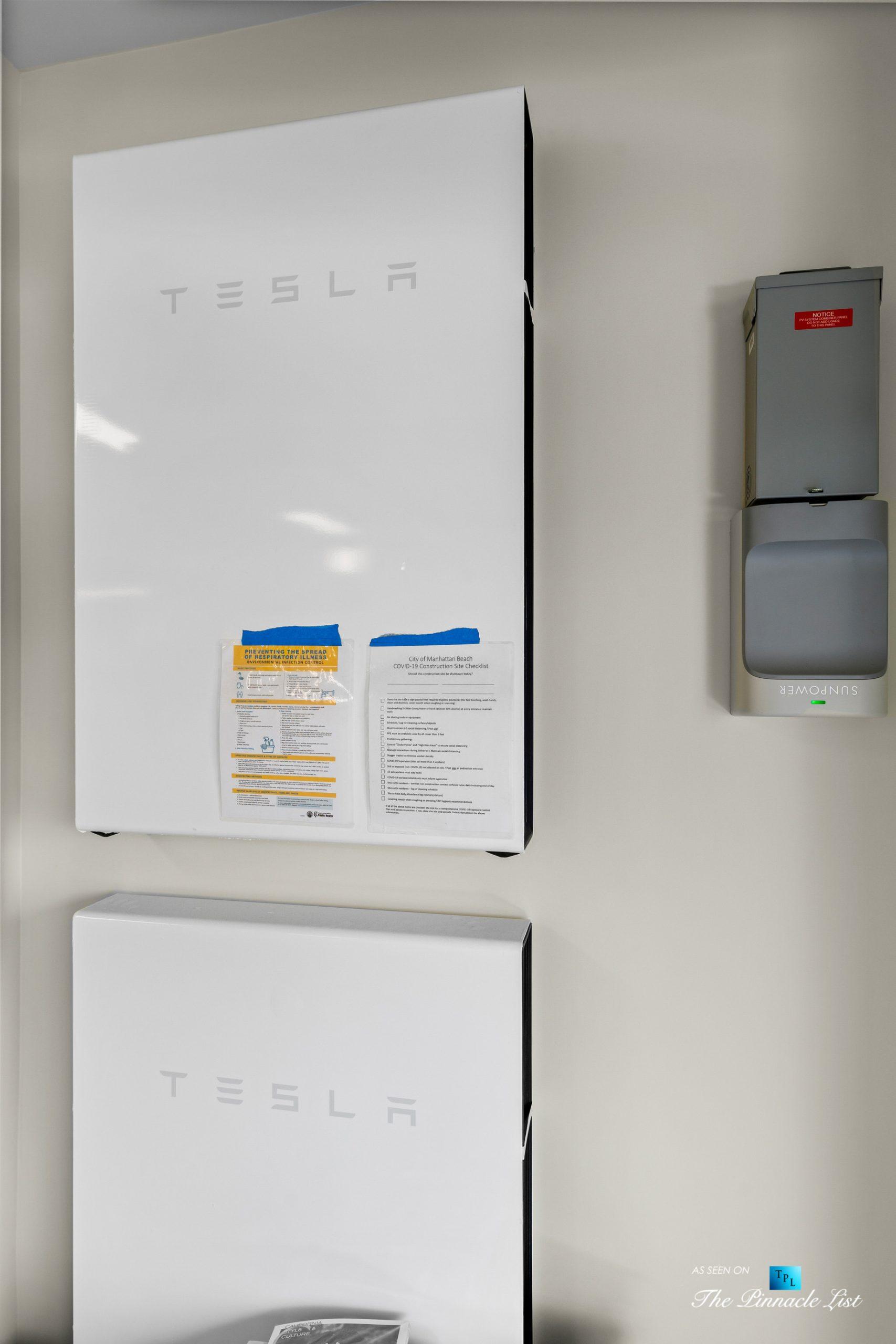 508 The Strand, Manhattan Beach, CA, USA – Garage Tesla Powerwall – Luxury Real Estate – Oceanfront Home