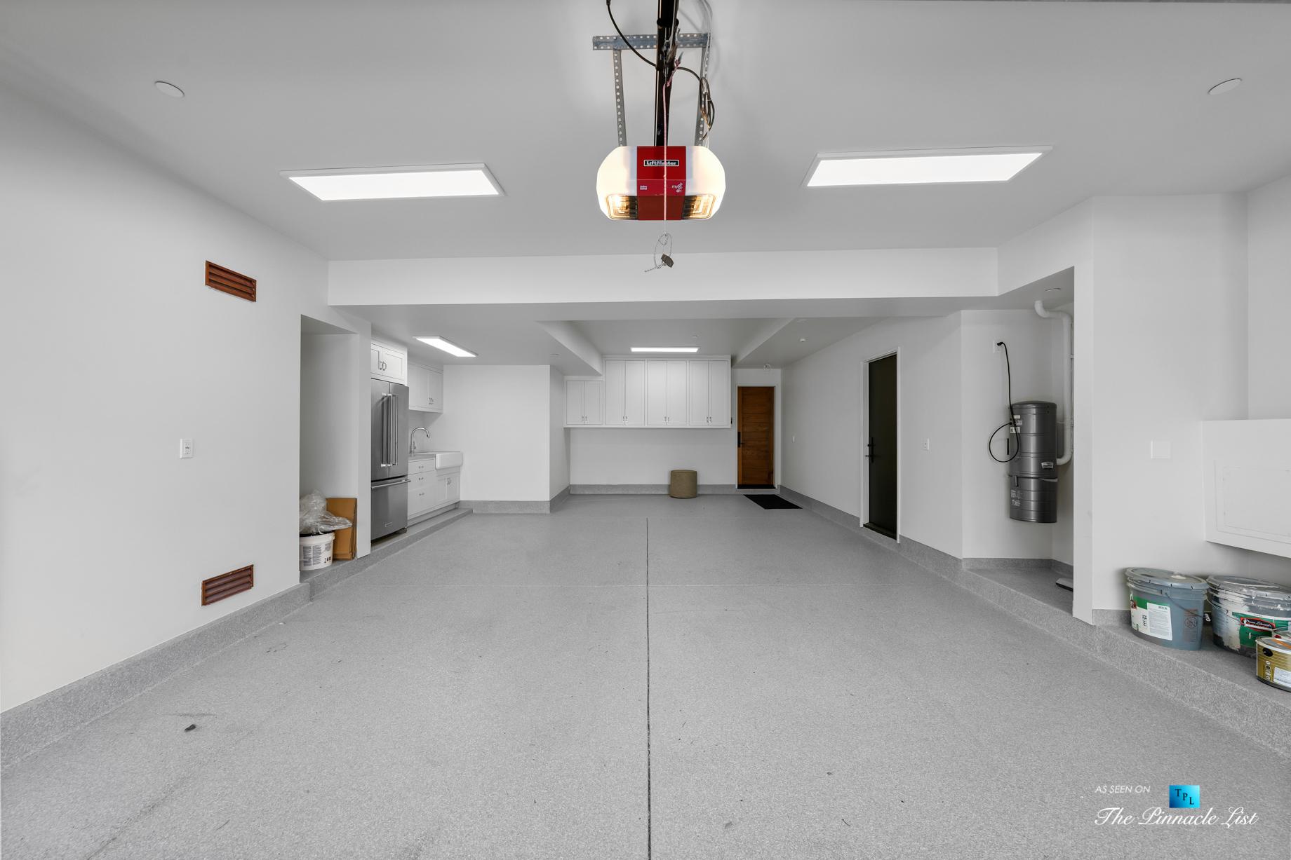 508 The Strand, Manhattan Beach, CA, USA - Lower Level Garage with Kitchen - Luxury Real Estate - Oceanfront Home