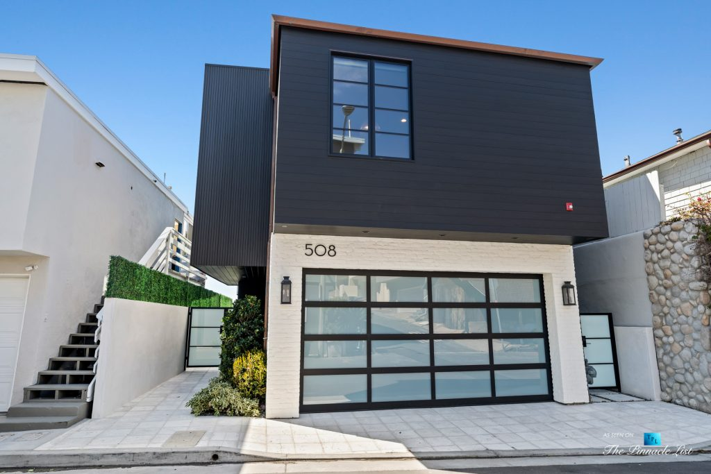 508 The Strand, Manhattan Beach, CA, USA - Exterior Garage Door - Luxury Real Estate - Oceanfront Home