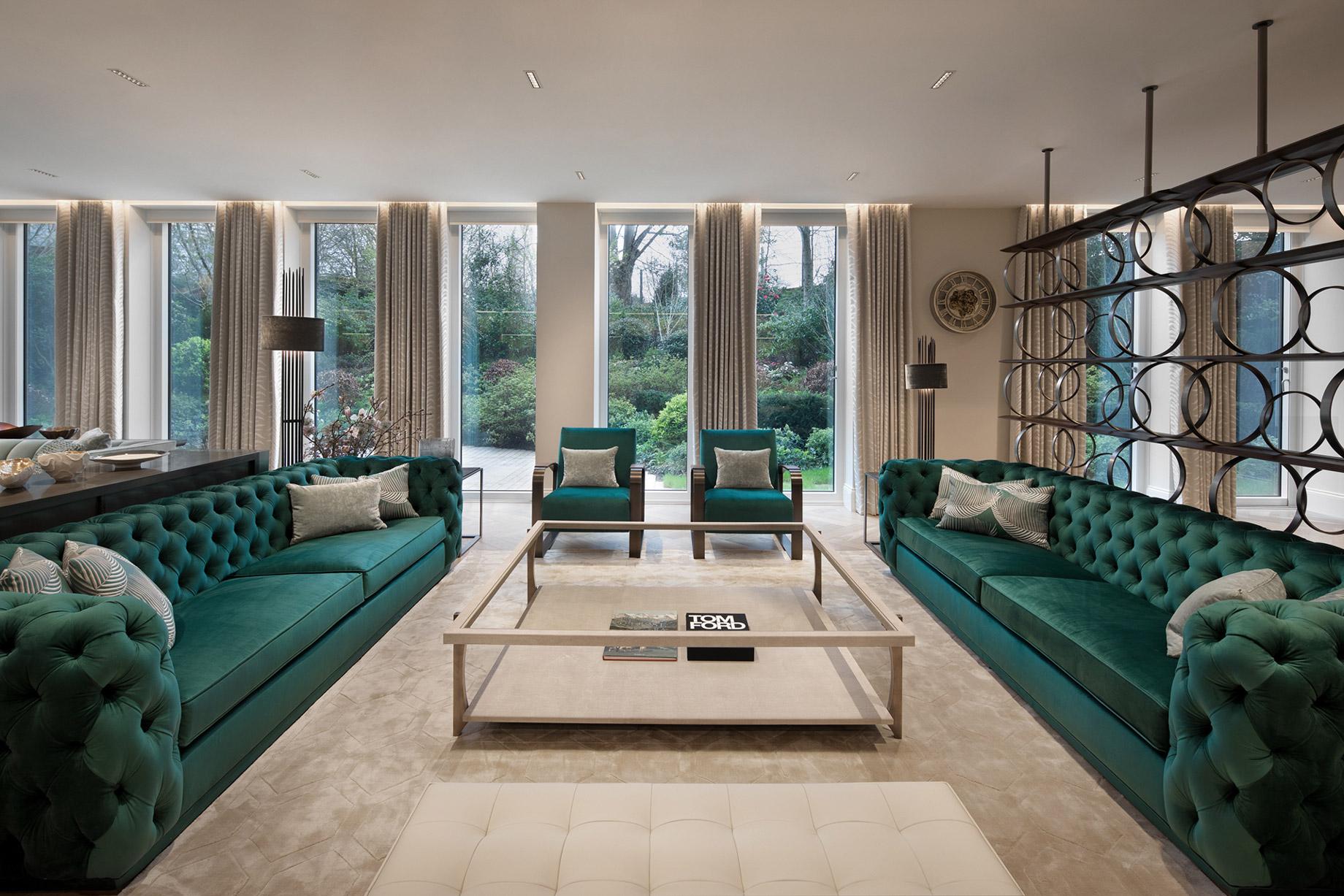 Luxury Villa Living Room - Indonesia