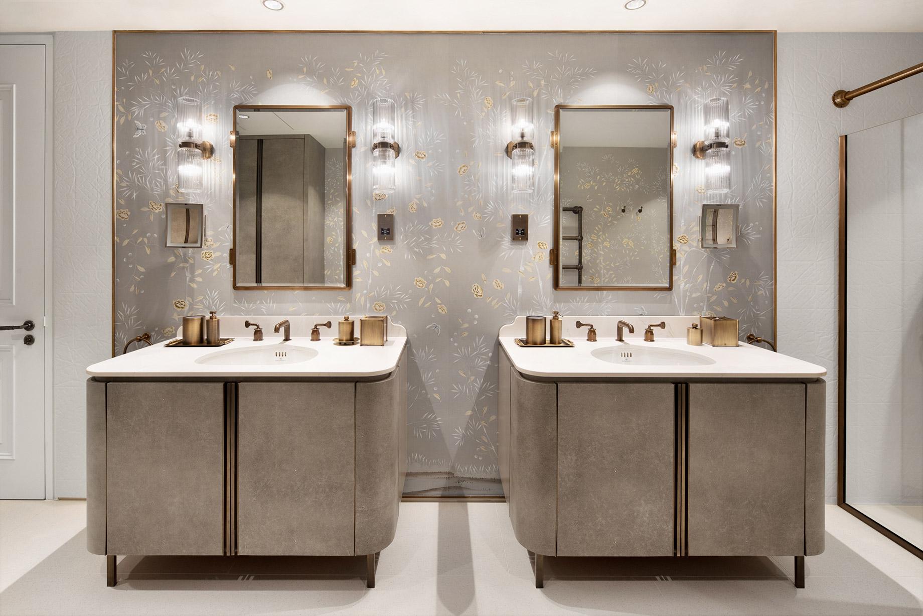 Luxury Villa Living Bathroom Vanity - Indonesia