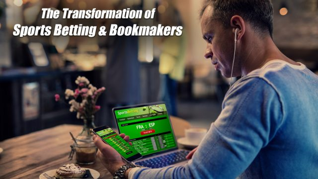 The Transformation of Sports Betting & Bookmakers