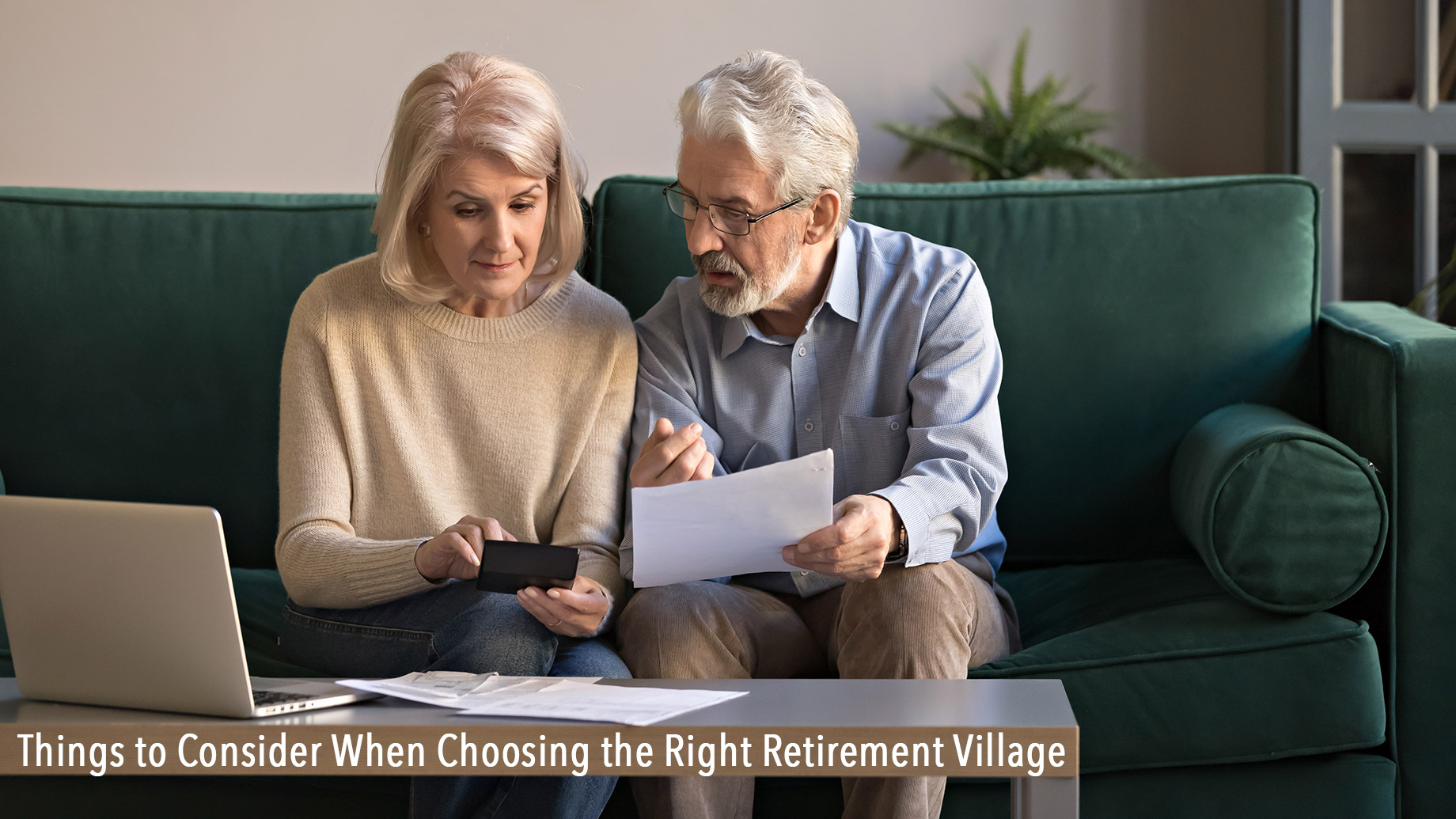 Things to Consider When Choosing the Right Retirement Village