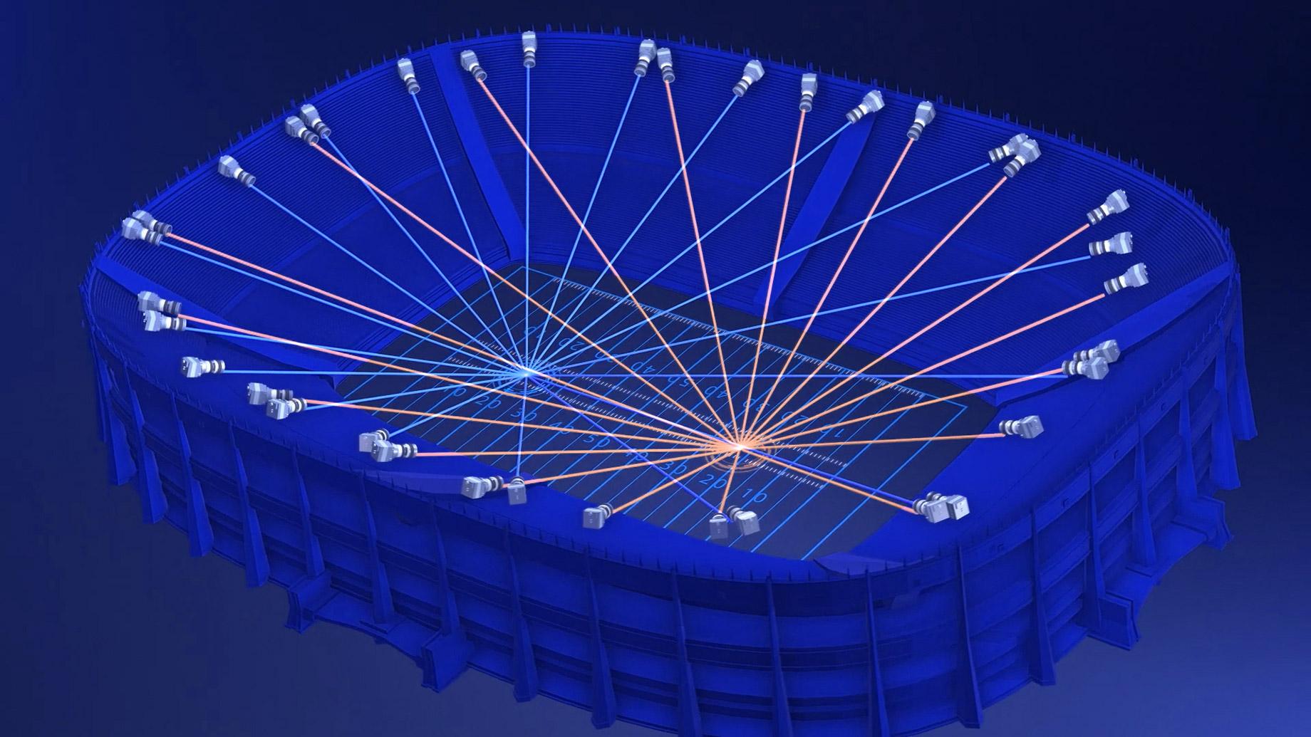 TrueView - Intel 360º Stadium Field Micro-Cameras