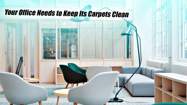 Your Office Needs to Keep Its Carpets Clean