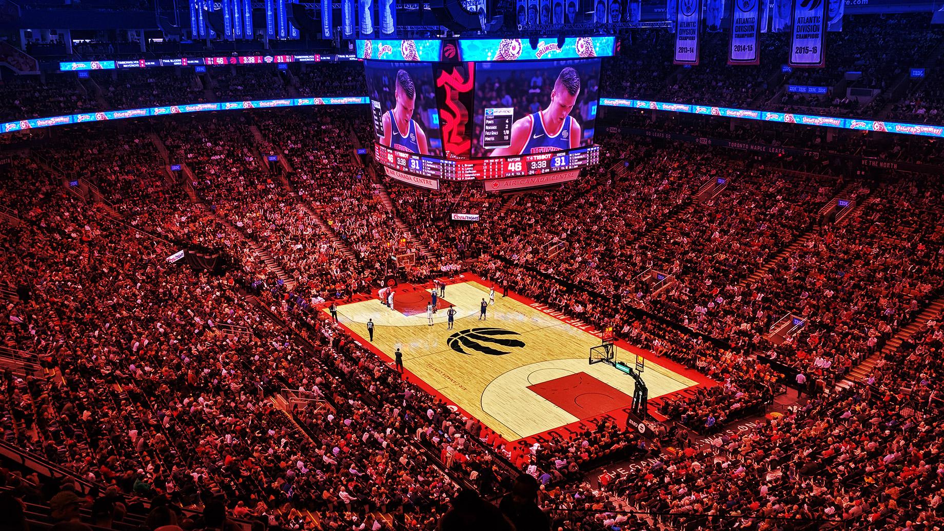 Raptors NBA Basketball - Toronto, Ontario, Canada