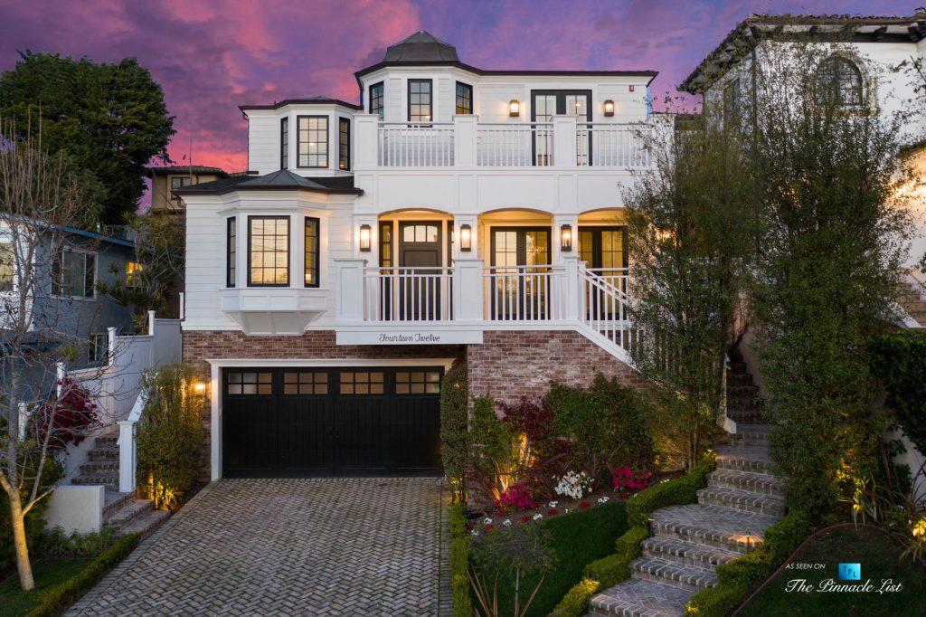 1412 Laurel Ave, Manhattan Beach, CA, USA - Front Exterior Twilight
