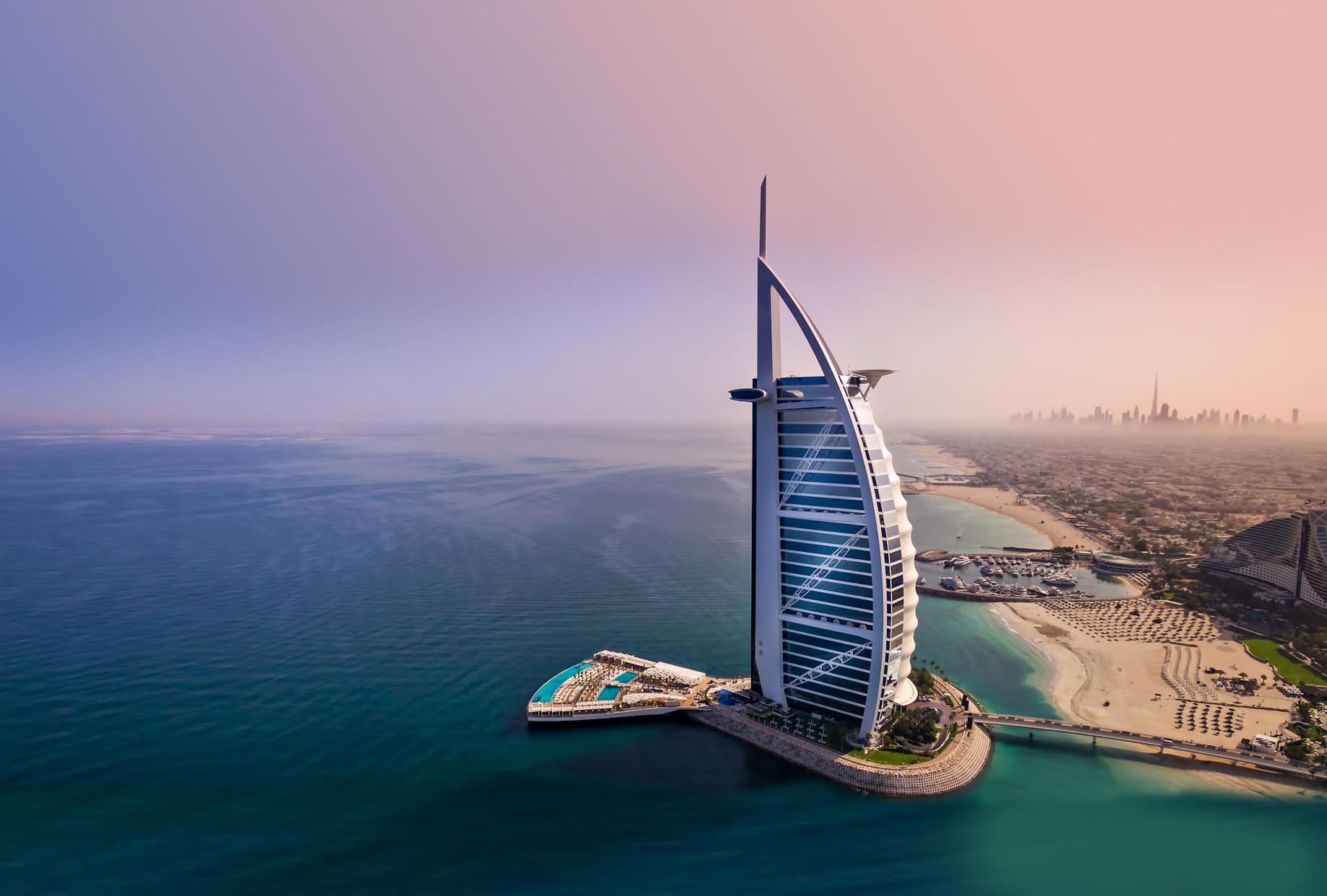Burj Al Arab Luxury Hotel – Jumeirah St, Dubai, UAE