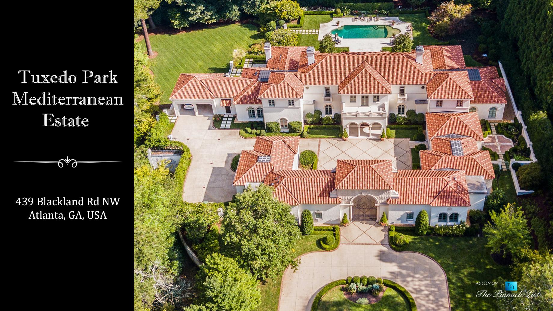 Tuxedo Park Mediterranean Estate – 439 Blackland Rd NW, Atlanta, GA, USA