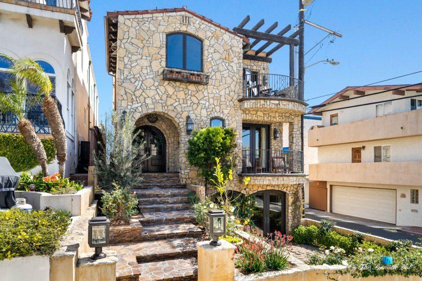 216 7th St, Manhattan Beach, CA, USA - Luxury Real Estate - Coastal Villa Home - Front Exterior