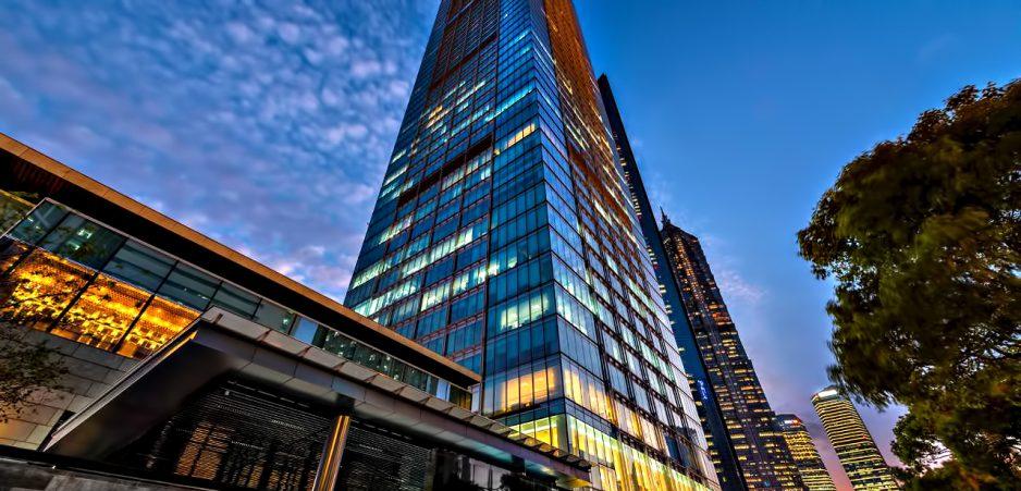Regent Shanghai Pudong Luxury Hotel - Shanghai, China - Tower