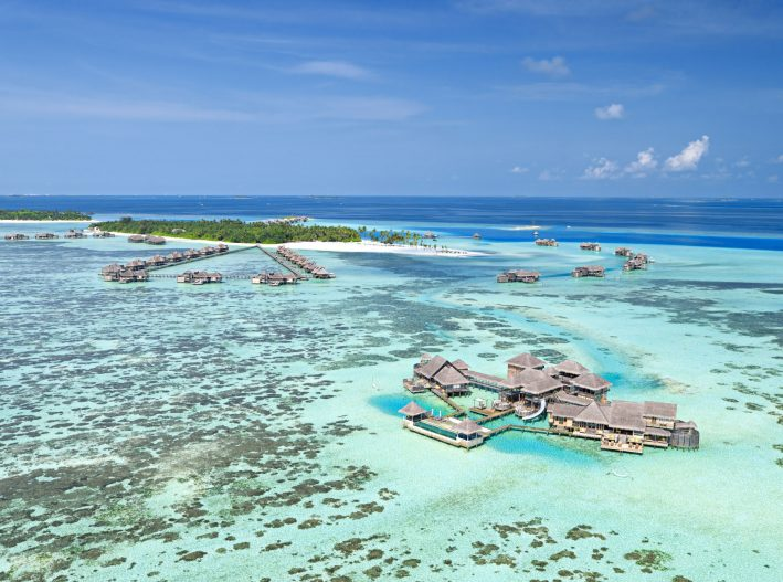 Gili Lankanfushi Luxury Resort - North Male Atoll, Maldives - The Private Reserve Aerial