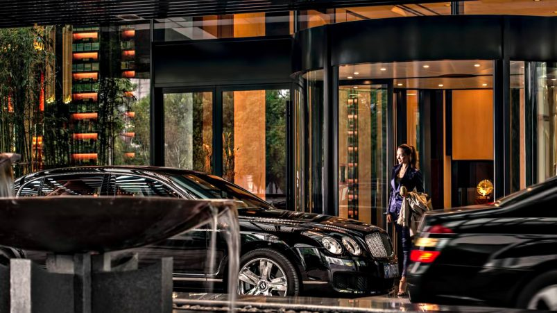 Regent Shanghai Pudong Luxury Hotel - Shanghai, China - Arrival
