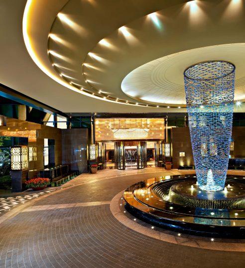 The St. Regis Shenzhen Luxury Hotel - Shenzhen, China - Entrance