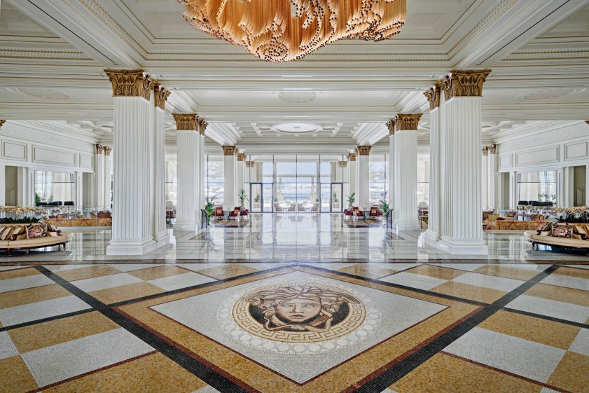 Palazzo Versace Dubai Hotel - Jaddaf Waterfront, Dubai, UAE - Lobby