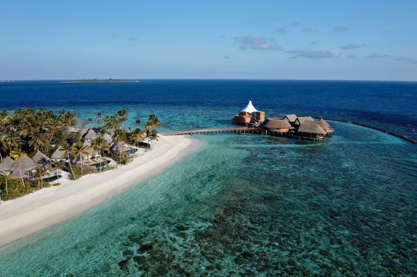 The Nautilus Maldives Luxury Resort - Thiladhoo Island, Maldives - Aerial View