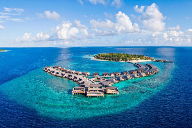 The St. Regis Maldives Vommuli Luxury Resort - Dhaalu Atoll, Maldives - Vommuli Island