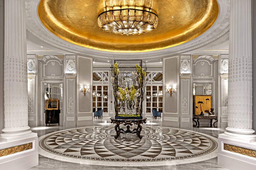 The St. Regis Rome Luxury Hotel - Rome, Italy - Lobby Entrance