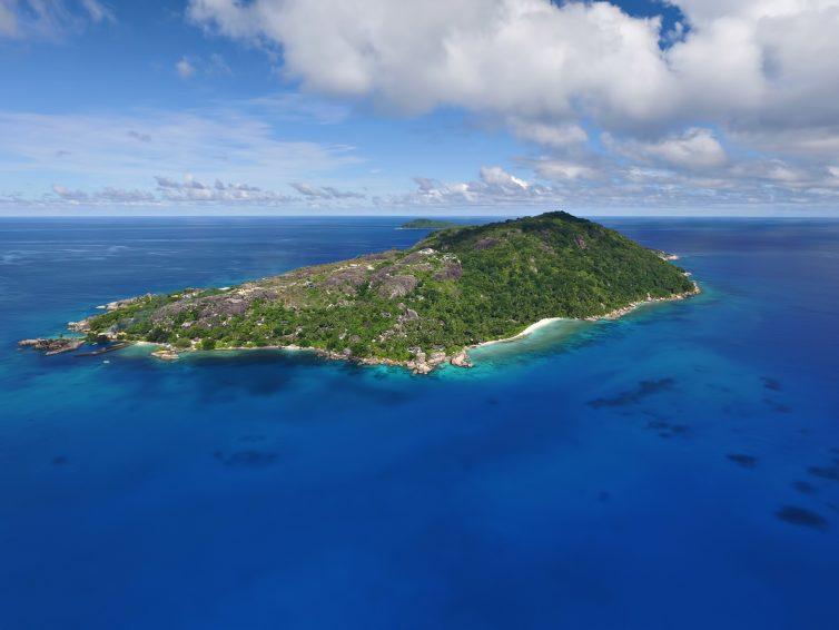 Six Senses Zil Pasyon Luxury Resort - Felicite Island, Seychelles - Island Aerial