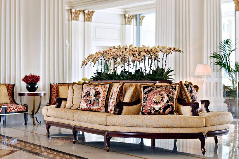 Palazzo Versace Dubai Hotel - Jaddaf Waterfront, Dubai, UAE - Lobby Seating