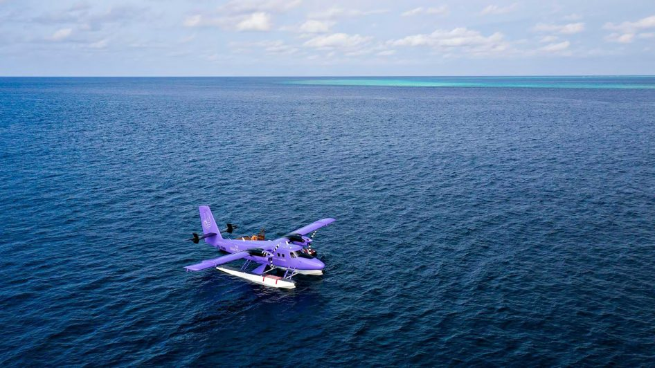 The Nautilus Maldives Luxury Resort - Thiladhoo Island, Maldives - Seaplane