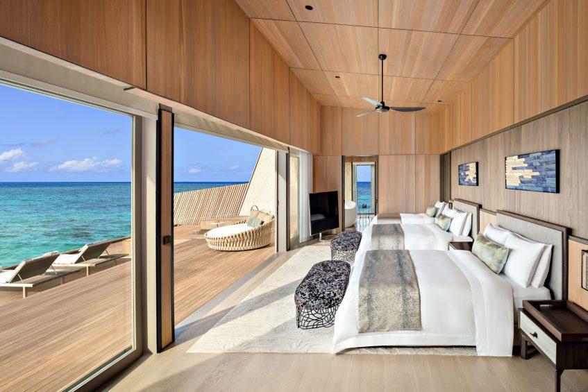 The St. Regis Maldives Vommuli Luxury Resort - Dhaalu Atoll, Maldives - King Twin John Jacob Astor Estate