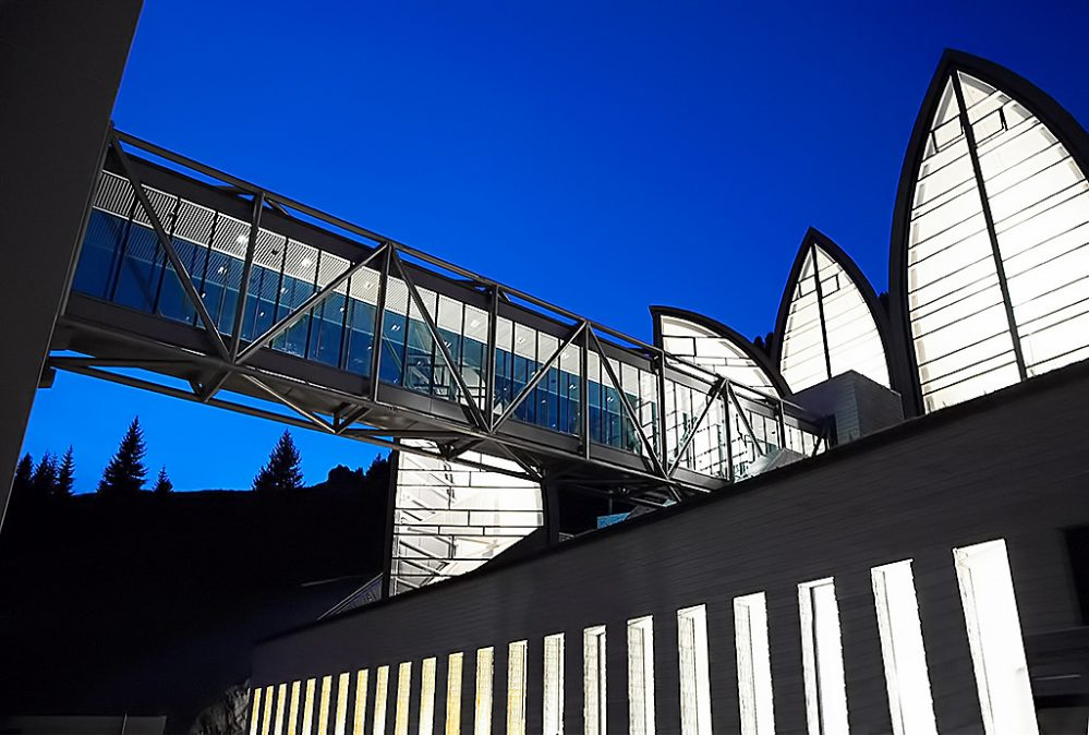 Tschuggen Grand Luxury Hotel - Arosa, Switzerland - Hight Bridge