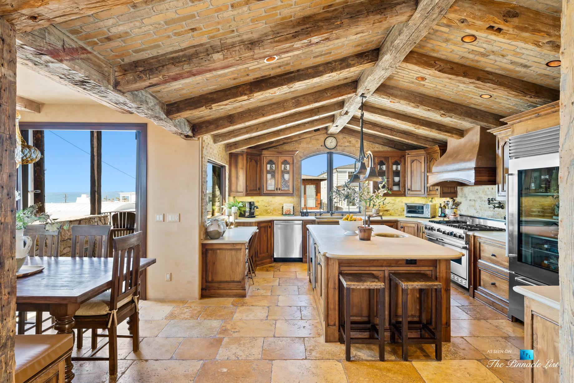 216 7th St, Manhattan Beach, CA, USA – Luxury Real Estate – Coastal Villa Home – Oceanview Kitchen