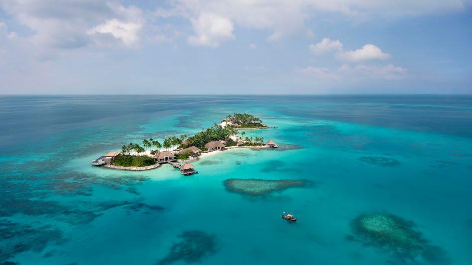 Cheval Blanc Randheli Luxury Resort - Noonu Atoll, Maldives - Private Island Resort Aerial