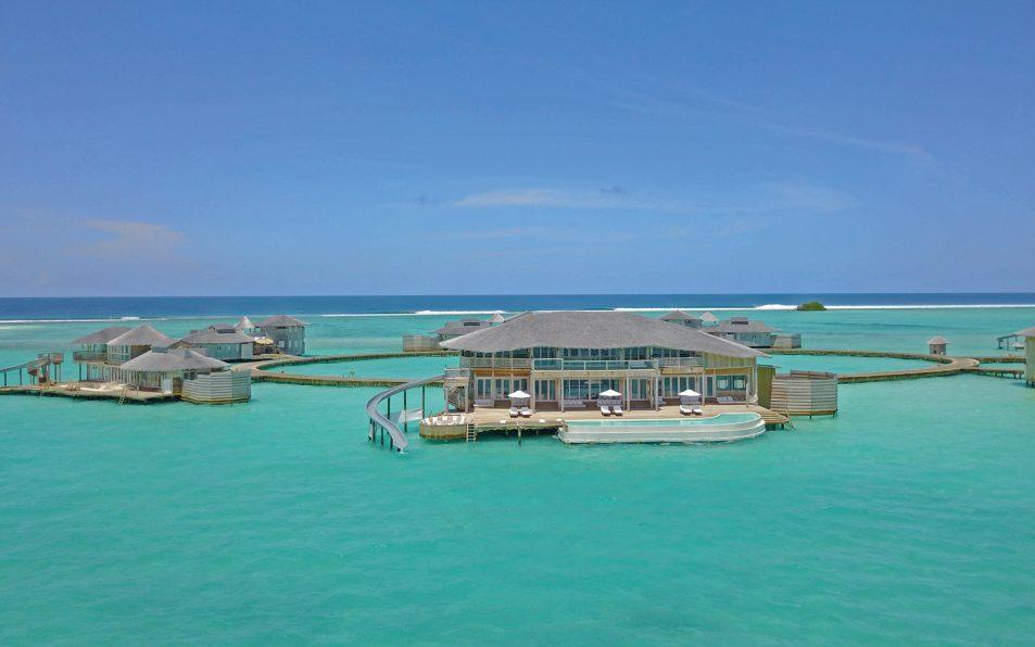 Soneva Jani Luxury Resort - Noonu Atoll, Medhufaru, Maldives - 4 Bedroom Water Reserve Villa with Slide Aerial