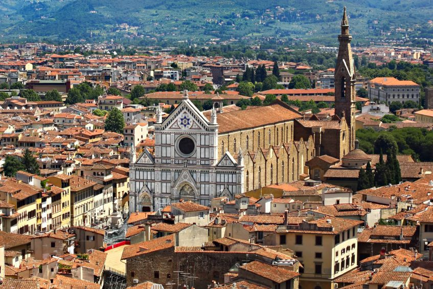 The St. Regis Florence Luxury Hotel - Florence, Italy - Basilica of Santa Croce