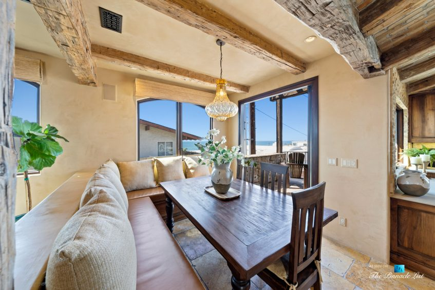 216 7th St, Manhattan Beach, CA, USA - Luxury Real Estate - Coastal Villa Home - Breakfast Nook