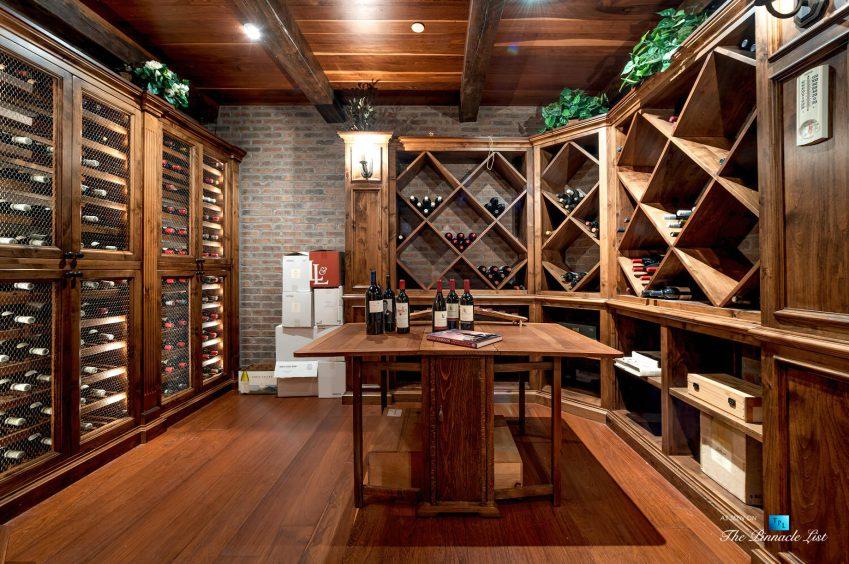 2667 Via De Los Ranchos, Los Olivos, CA, USA - Wine Room