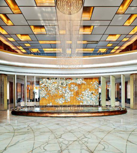 The St. Regis Tianjin Luxury Hotel - Tianjin, China - Entrance Fountain