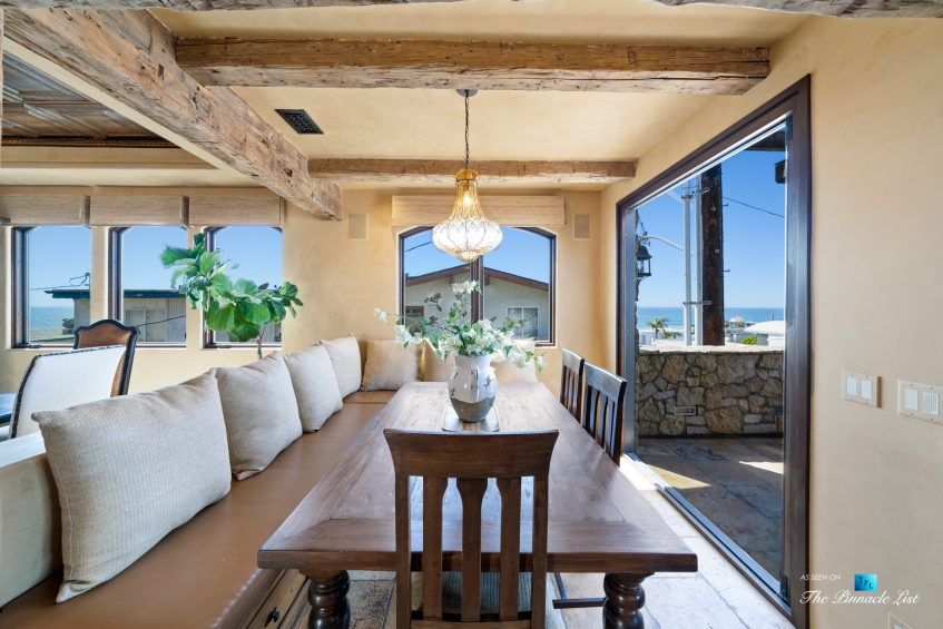 216 7th St, Manhattan Beach, CA, USA - Luxury Real Estate - Coastal Villa Home - Breakfast Nook and Balcony