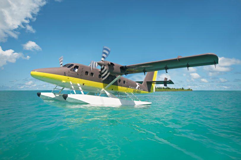Cheval Blanc Randheli Luxury Resort - Noonu Atoll, Maldives - Private Island Resort Plane