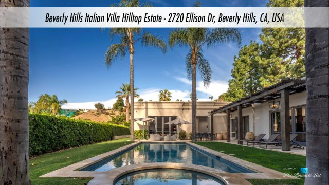 Beverly Hills Italian Villa Hilltop Estate - 2720 Ellison Dr, Beverly Hills, CA, USA