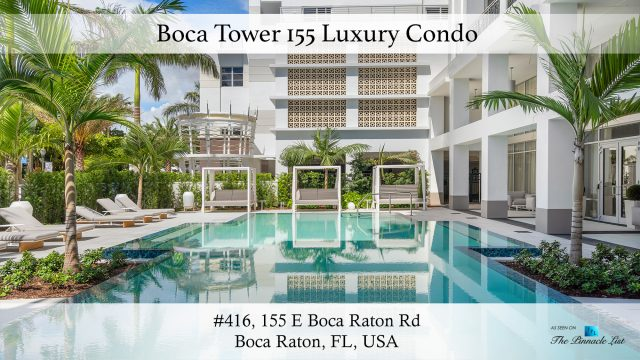 Boca Tower 155 Luxury Condo - Unit 416, 155 E Boca Raton Rd, Boca Raton, FL, USA