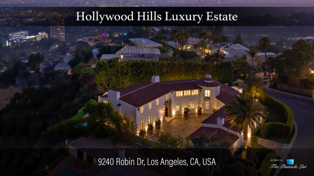 Hollywood Hills Luxury Estate - 9240 Robin Dr, Los Angeles, CA, USA
