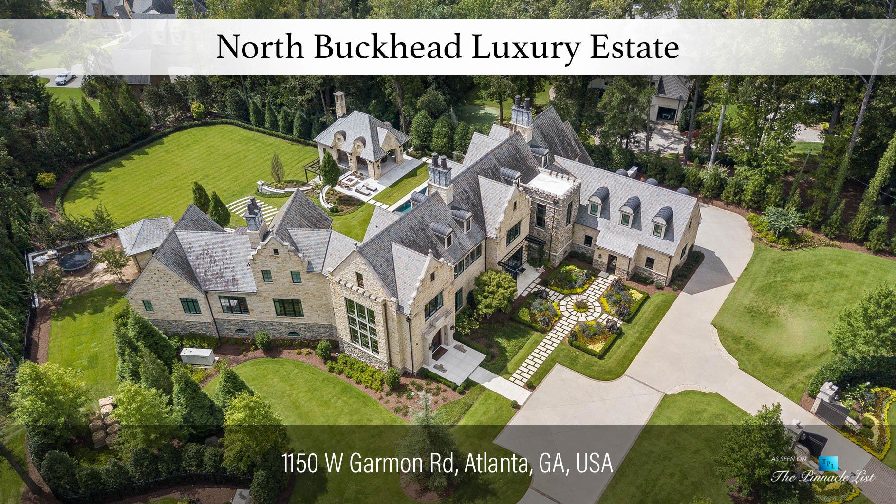 North Buckhead Luxury Estate - 1150 W Garmon Rd, Atlanta, GA, USA