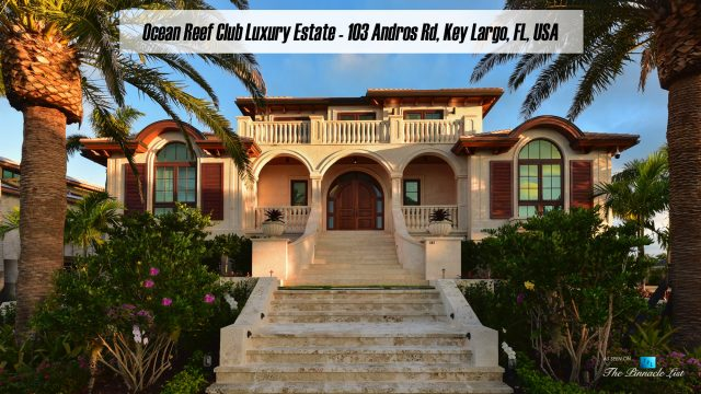 Ocean Reef Club Luxury Estate - 103 Andros Rd, Key Largo, FL, USA