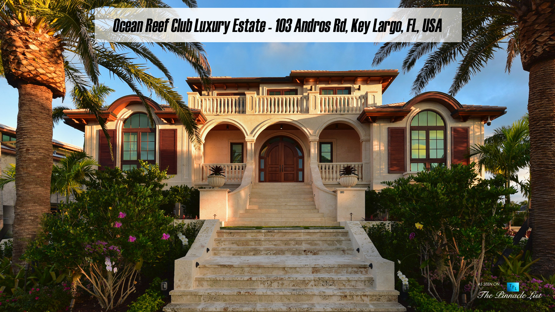 Ocean Reef Club Luxury Estate - 103 Andros Rd, Key Largo, FL, USA