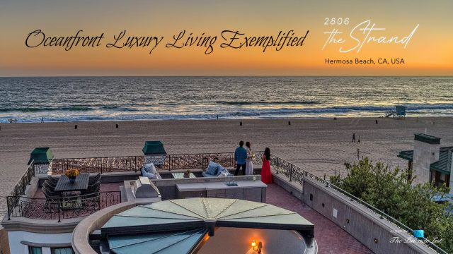 Oceanfront Luxury Living Exemplified - 2806 The Strand, Hermosa Beach, CA, USA