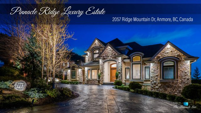 Pinnacle Ridge Luxury Estate - 2057 Ridge Mountain Dr, Anmore, BC, Canada